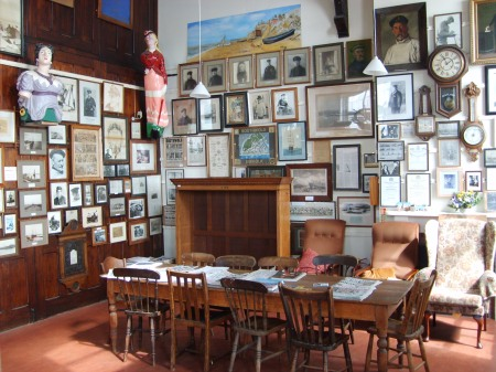 Interieur Southwold Sailor's Reading Room